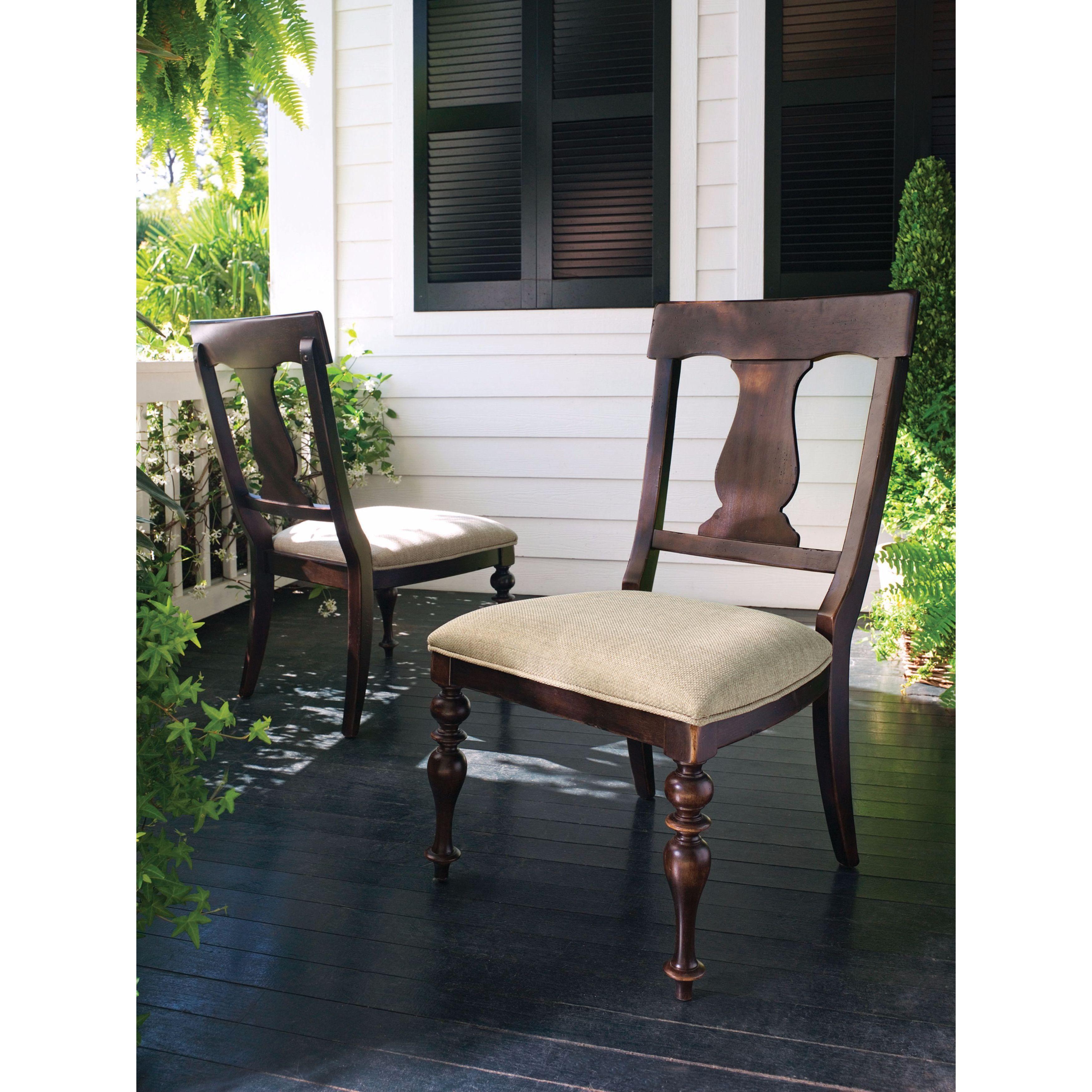 Paula Deen Home Paulau0027s Dining Chair In Tobacco Finish (Set Of 2) (Living