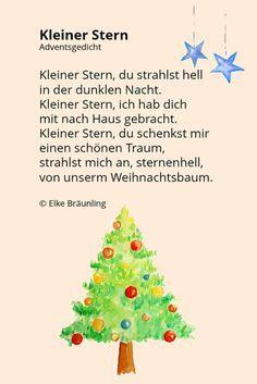 Gedicht tannenbaum weihnachtszeit