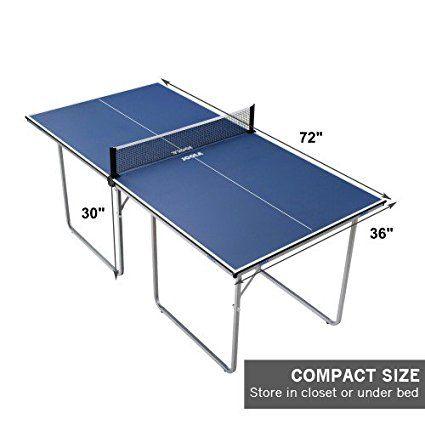Amazon Com Joola Midsize Table Tennis Table Ping Pong Table