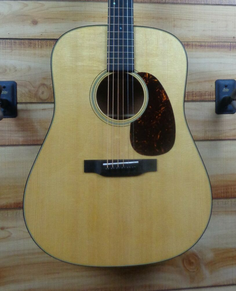 New Martin D18 Standard Dreadnought Acoustic Guitar Natural W Case Ebay Martin Guitar Guitar Acoustic Guitar