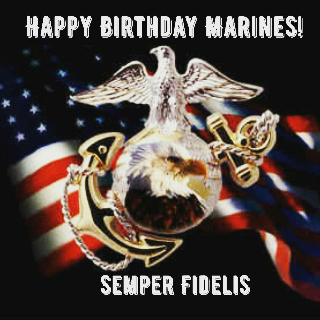 Happy Birthday Marines!!!! Marine corps birthday, Usmc