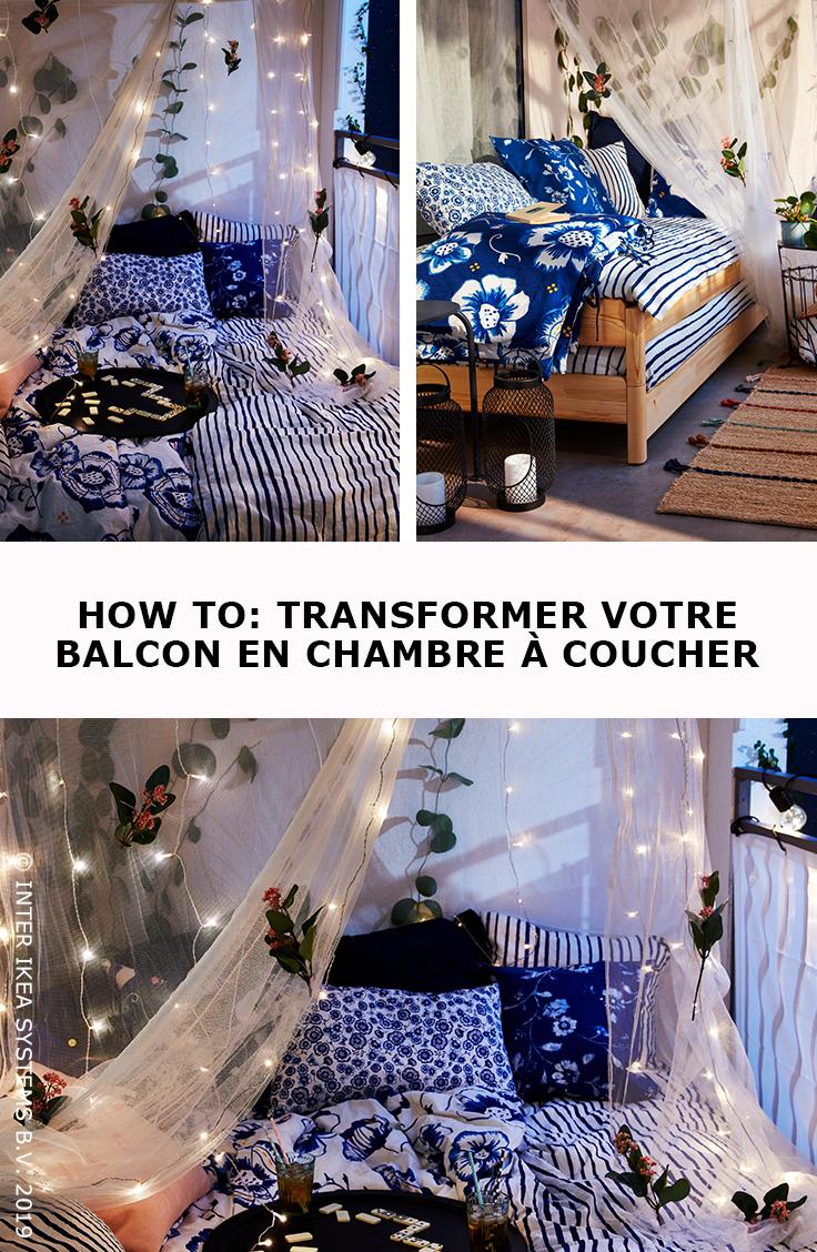 Transformez Votre Balcon En Chambre A Coucher Slaapkamer Ikea Balkon