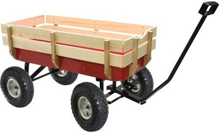 Wagon With Wooden Sides The Wagon