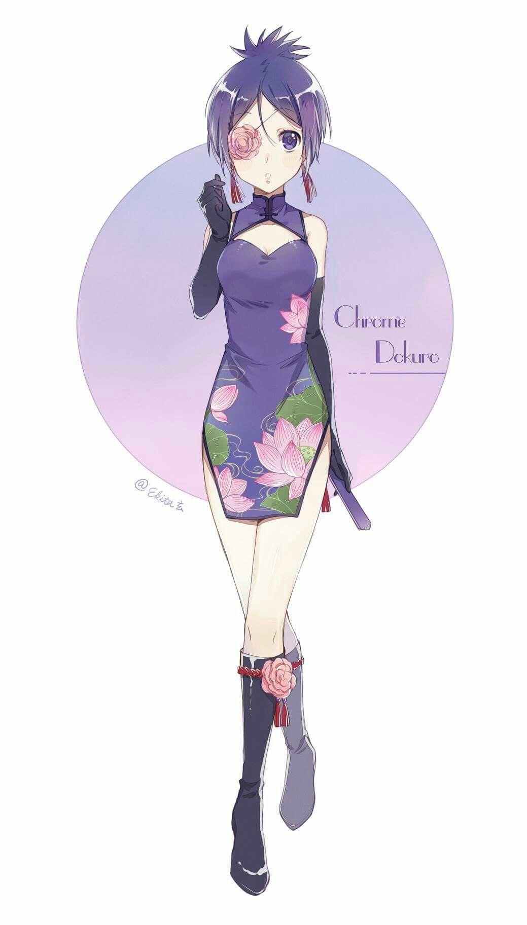 Consider, that chrome dokuro hentai are