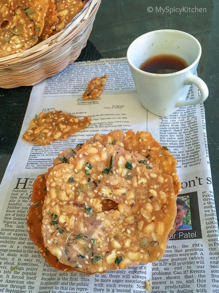 Bobbari Garelu Chekkalu Rice Flour Black Eyed Peas
