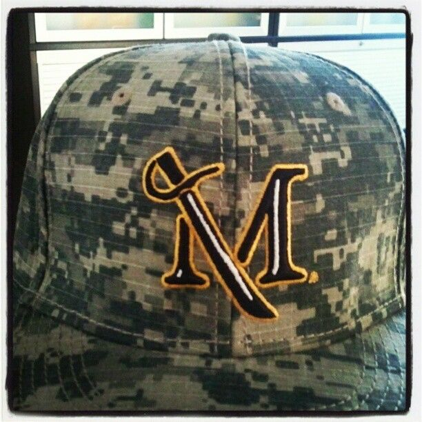 Get Your Digital Camo Baseball Hat On Friday April 13 At