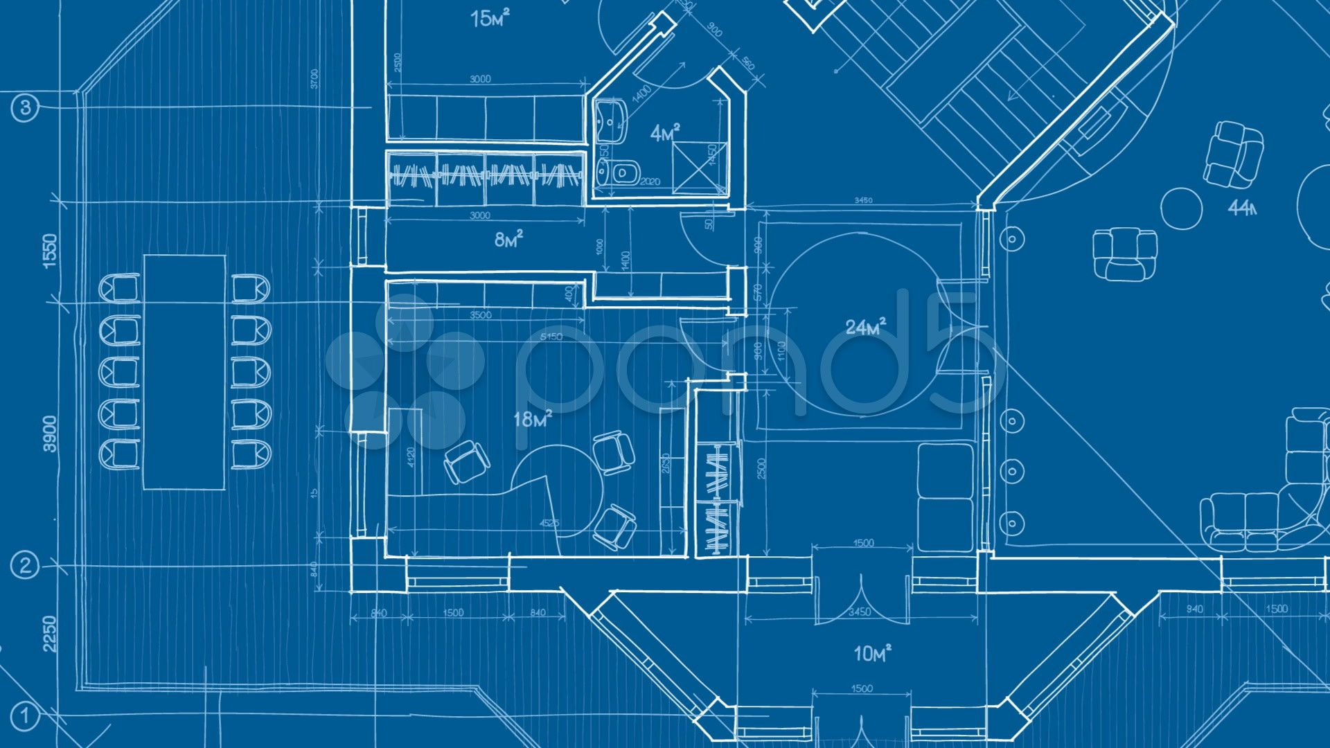 House Blueprint Wallpaper Elegant Architecture Blueprint Hd 4k Stock Footage Architecture Blueprints House Blueprints Blueprints