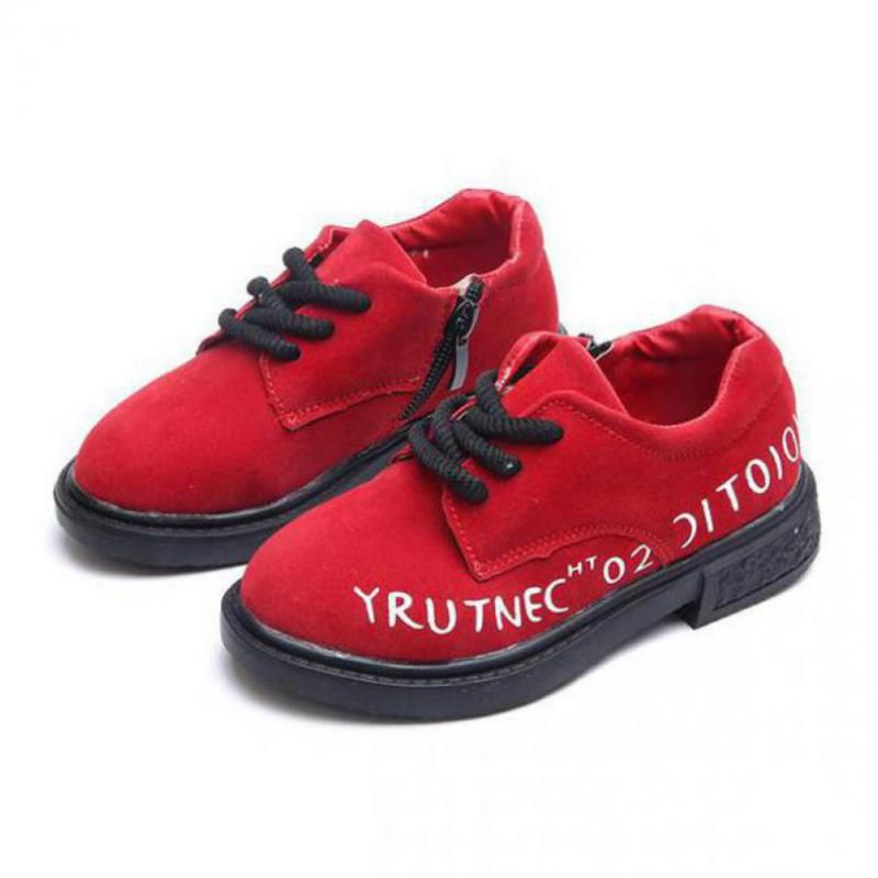 ce2934730f Click to Buy << Little Boys Girls New Leather Shoes Children's ...