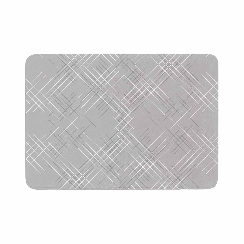 Gray Abstract Bath Mat By Famenxt Memory Foam Bath Mat Abstract