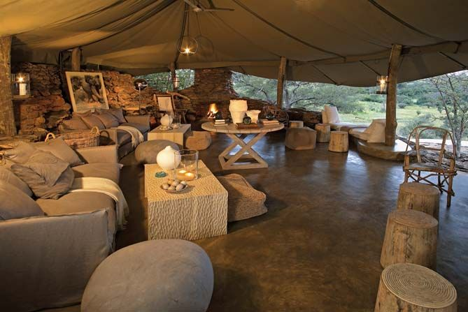 Luxury African Game Reserve Welcomes Guests In The Heart Of Nature