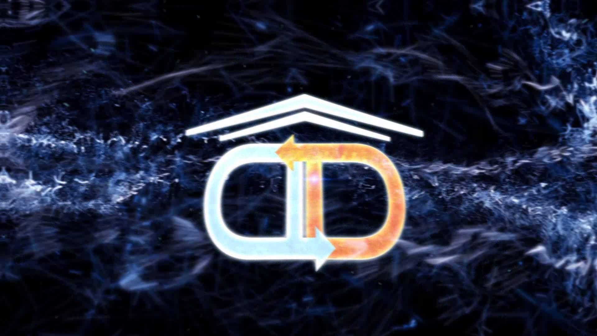 Logo animato della D&D Infissi