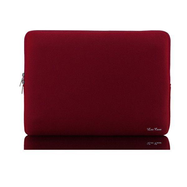 "Portable Zipper Soft Liner Sleeve Laptop Bag Notebook Case Computer Bag Smart Cover for 11"" 13"" 14""15"" Macbook Air Pro Retina"