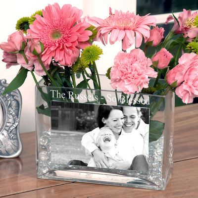 225 & Personalized Glass Photo Vase | Crafty Creations | Glass ...