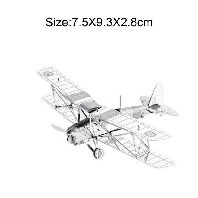 27 Kinds Military 3d Metal Puzzle Aircraft Tank Helicopter