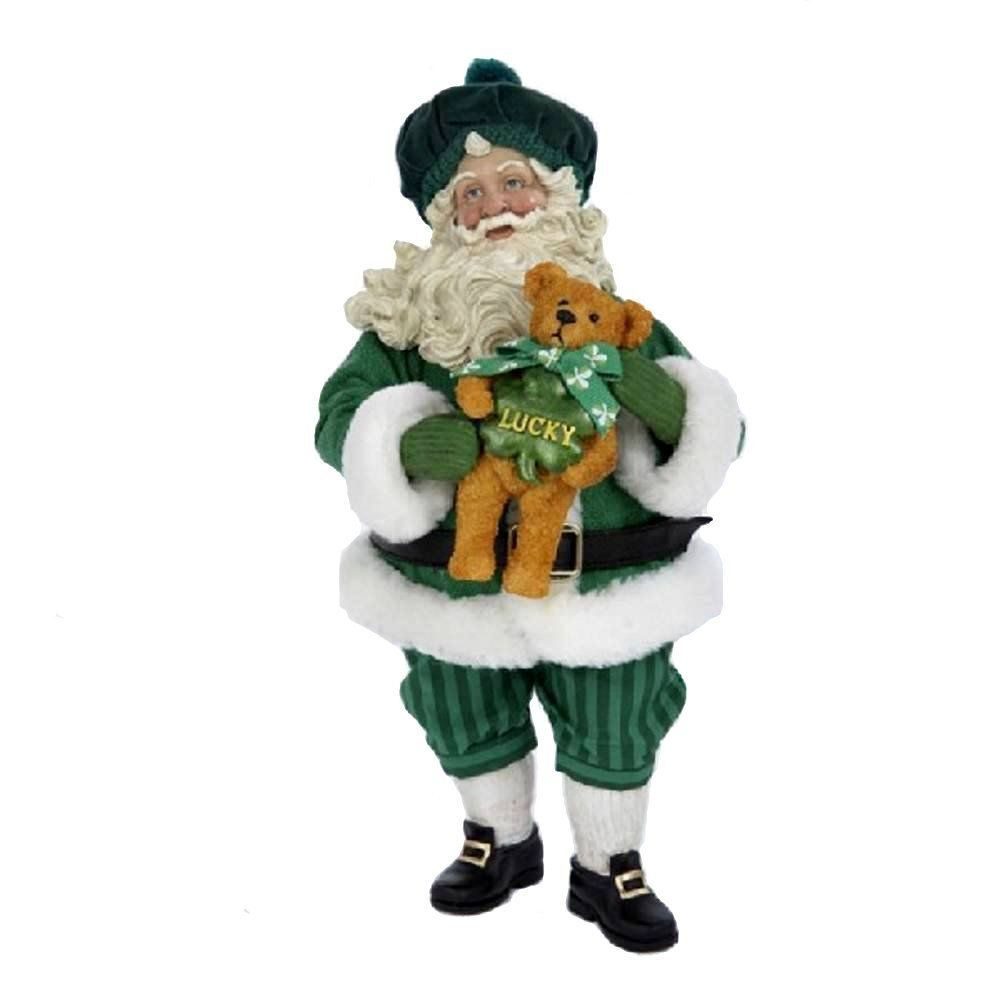Irish Santa Claus Figurines for Christmas | All About Christmas ...