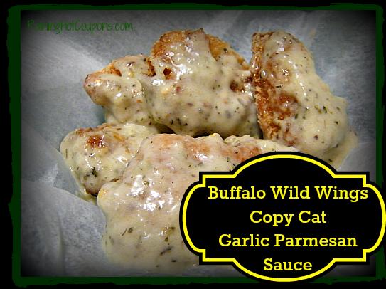 Buffalo Wild Wings Parmesan Garlic Sauce Recipe