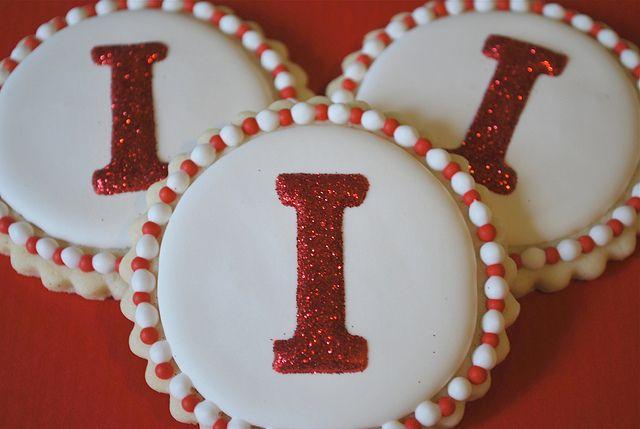 Personalized Cookies by Sweet Goosie Girl, via Flickr