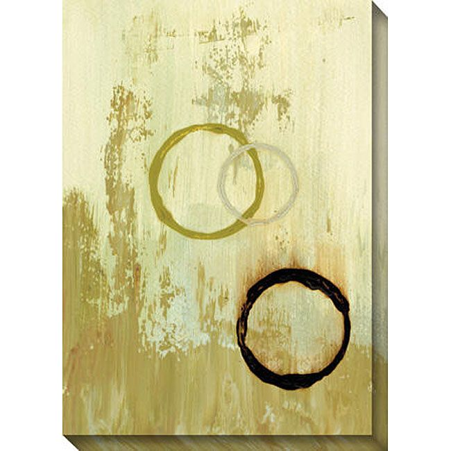 Gallery Direct Leslie Saris 'More or Less I' Canvas Art