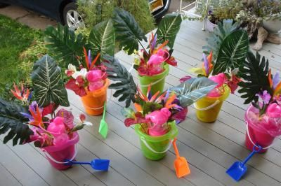 Pool Party Decorations Diy Dollar Stores