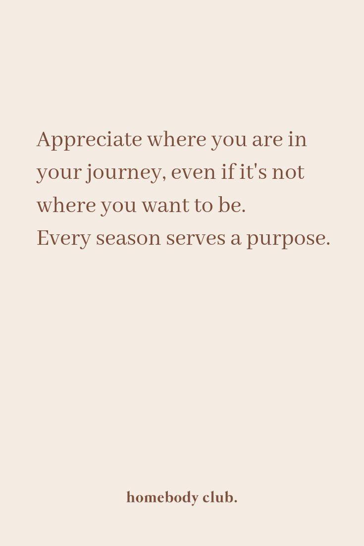 ... appreciate where you are | words | quotes