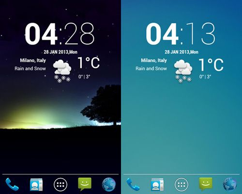 20 Beautiful Weather Widgets For Your Android Home Screens