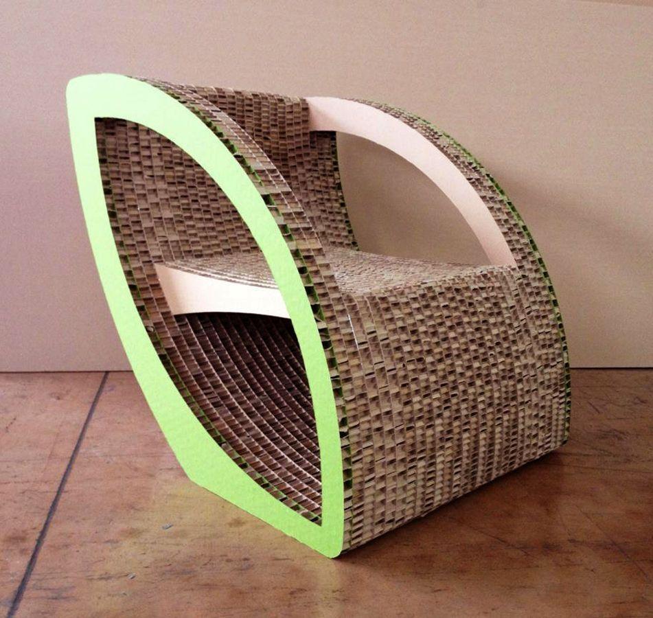 Cardboard Chair Project By Oksana Bedo Via Behance Here S The  # Frank Gehry Muebles De Carton
