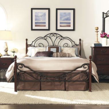 Belvedere Metal 4 Poster Bedroom Collection Found At @JCPenney