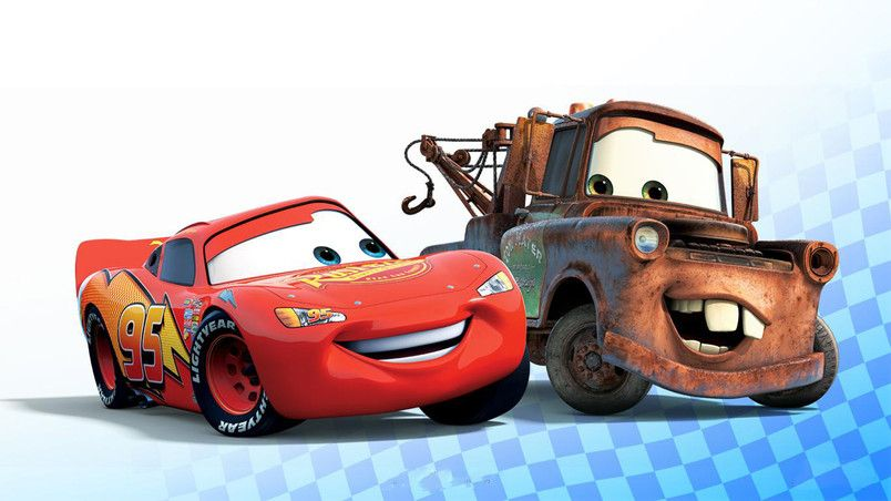 Cars Lightning Mcqueen And Mater Hd Wallpaper With Images