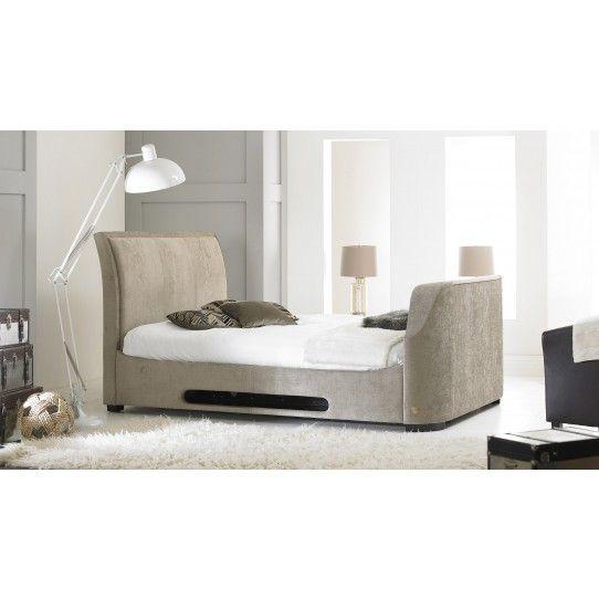 Vogue Ottoman Mink - Fabric TV Bed | Design: Bedrooms | Pinterest ...