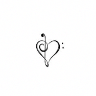 Image result for small music tattoos #cutebodytattoos