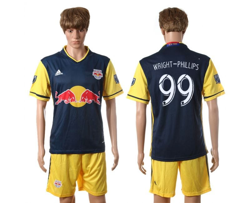 45c1c9204 2016-2017 New York Red Bulls  99 WRIGHT-PHILLIPS Away Soccer Jerseys ...