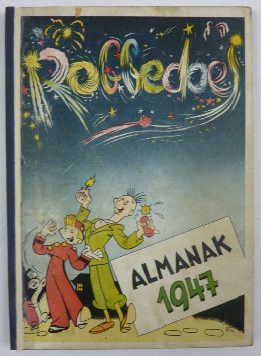 Robbedoes Almanak 1947 Hc 1e Druk 1947 W B Stripverhalen Album