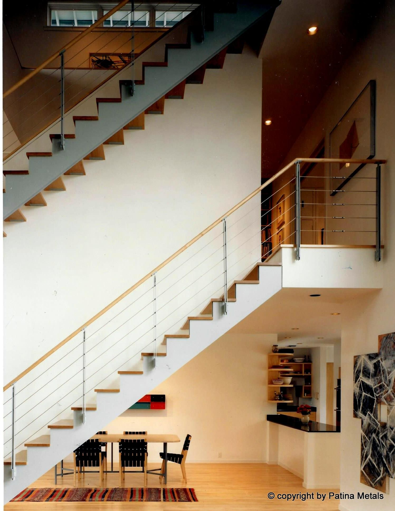 Stair Railings ‹ Patina Metals   Wrought iron stair ...