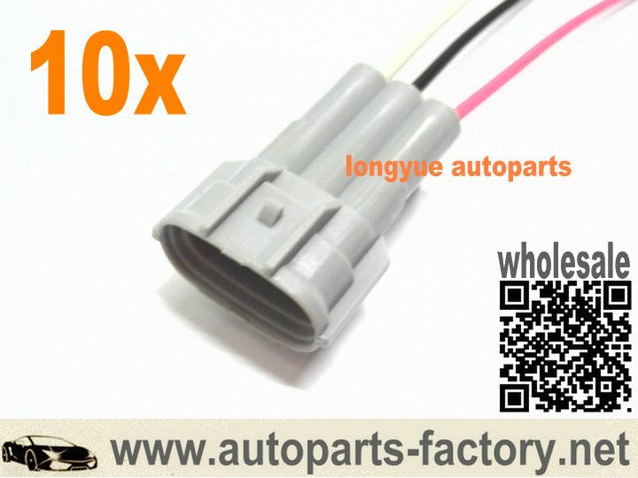 10016350a5a10fcd4b84ccb174cc9317 gm alternator repair sockets oval 3 pin female terminals pigtail gm alternator harness at bayanpartner.co