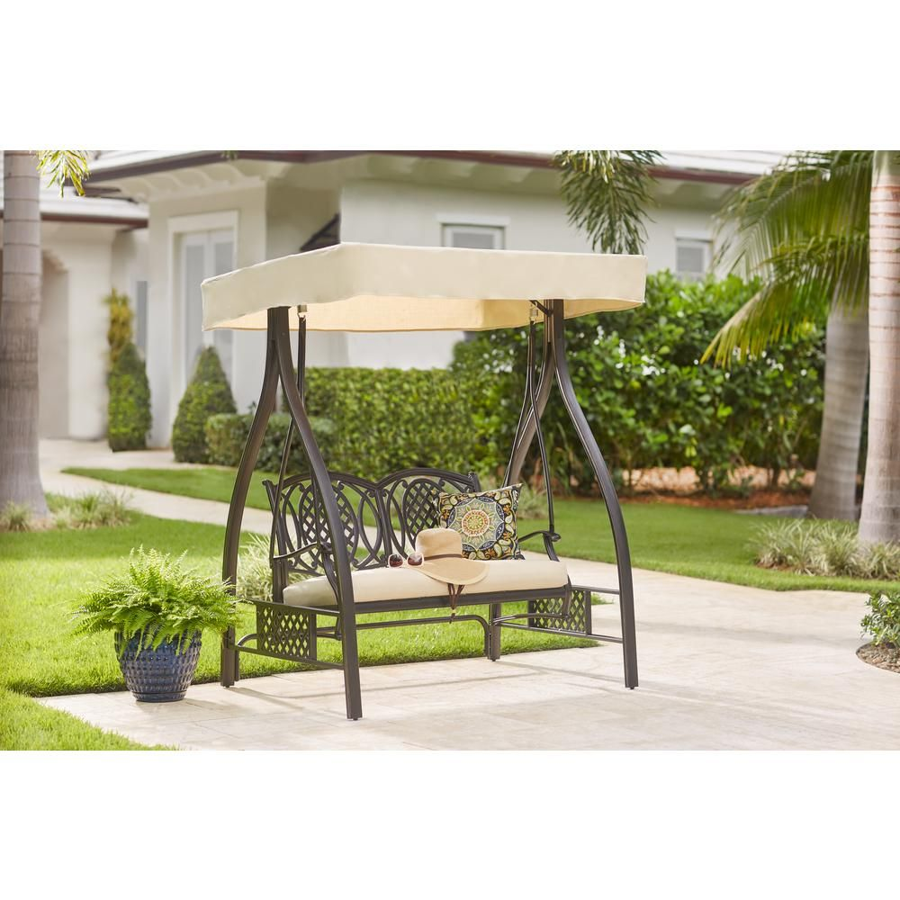 Trendy And Luxurious Outdoor Swings Reading Lovers Comfort Zone Patio Swing Outdoor Swing With Canopy Outdoor Patio Swing
