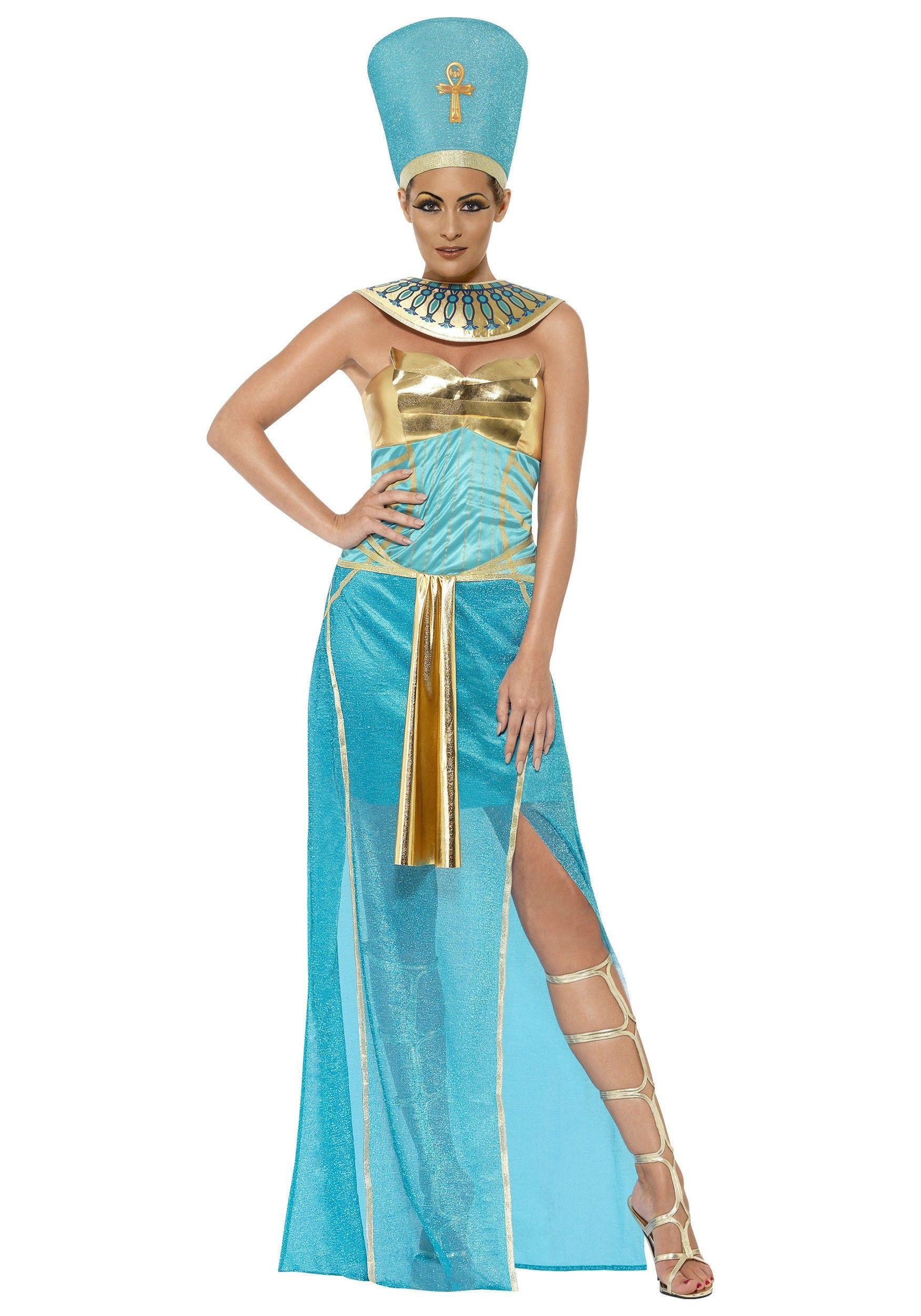 Women\'s Goddess Nefertiti Costume | Egyptian Theme Costumes ...