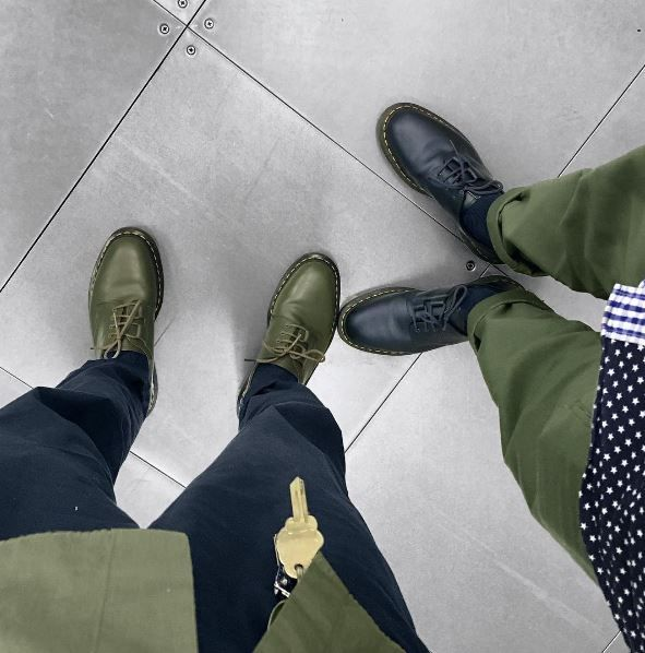 DOUBLE DOC'S: Colour coordinate in your Dr. Martens x