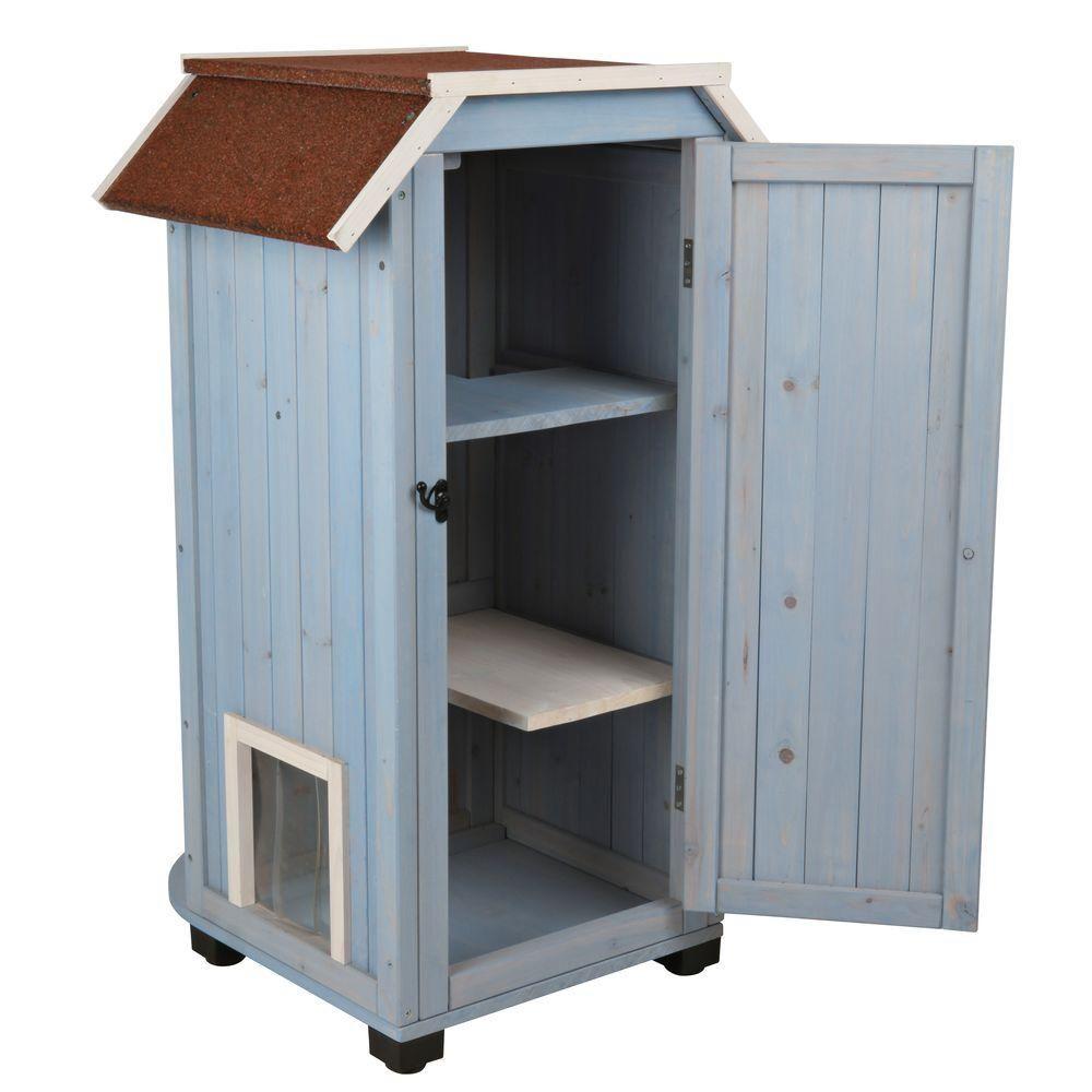 Résultats De Recherche D Images Pour Trixie Mad Scientist Wooden Cat House Outdoor Cat House Cat House