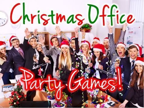 Christmas party office games -Shake up your office party with these