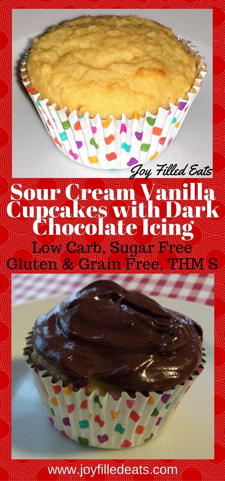 These Sour Cream Vanilla Cupcakes Are Perfect Especially