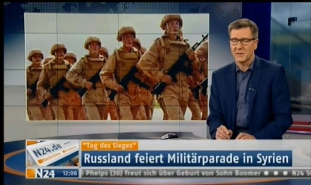 N24: Russia Surprises Europe by Holding a Victory Parade in Syria - Fort Russ