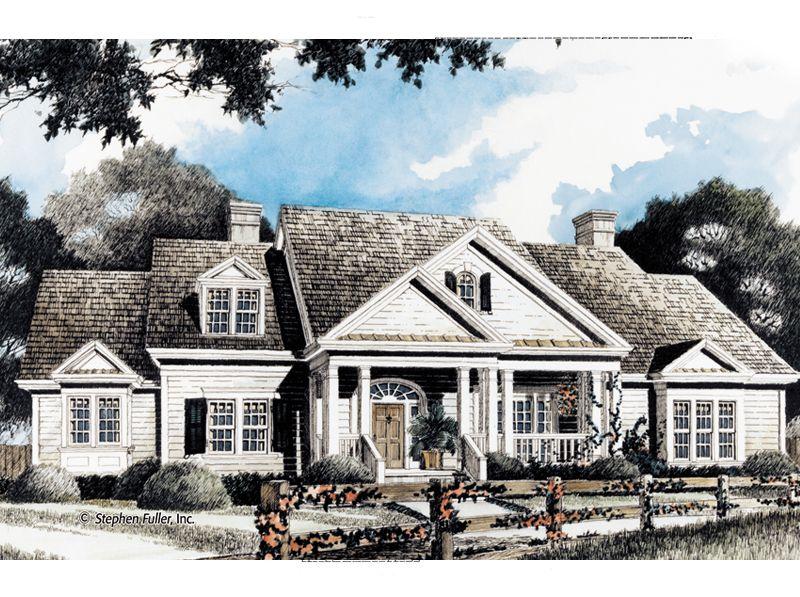 House Plan Caney Branch Stephen Fuller Inc Country Style House Plans House Plans Country House Plans