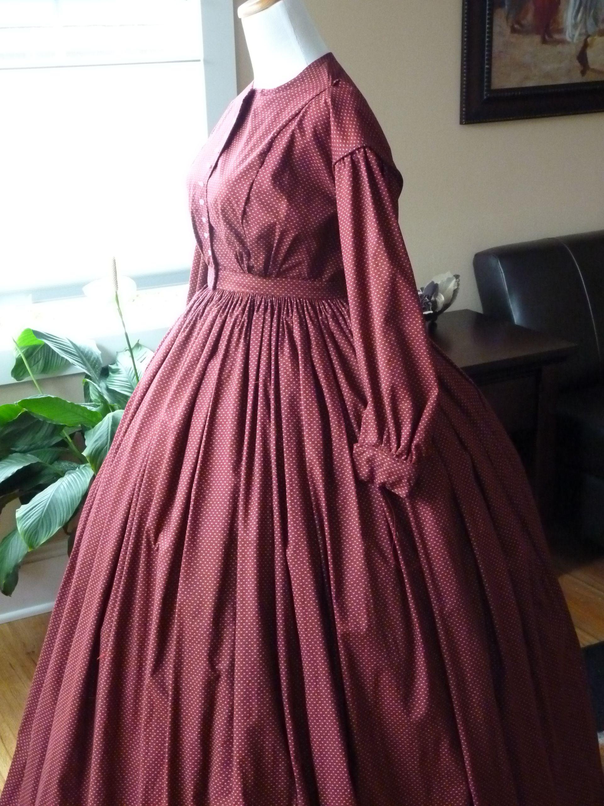Civil war dress | Period Wardrobes | Pinterest | Schöne kleidung ...