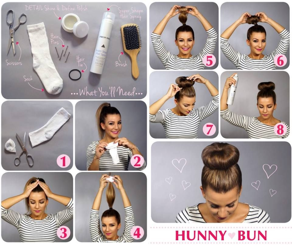 Easy Diy Bun Hairstyles: Cute Outfits Ideas With Buns Tumblr - Google Search