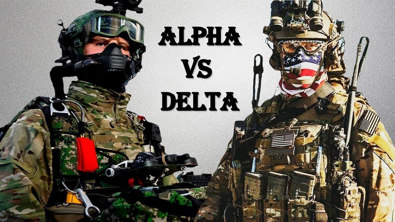 SPETSNAZ FSB ALPHA VS DELTA FORCE | Youtube | Military videos, Delta