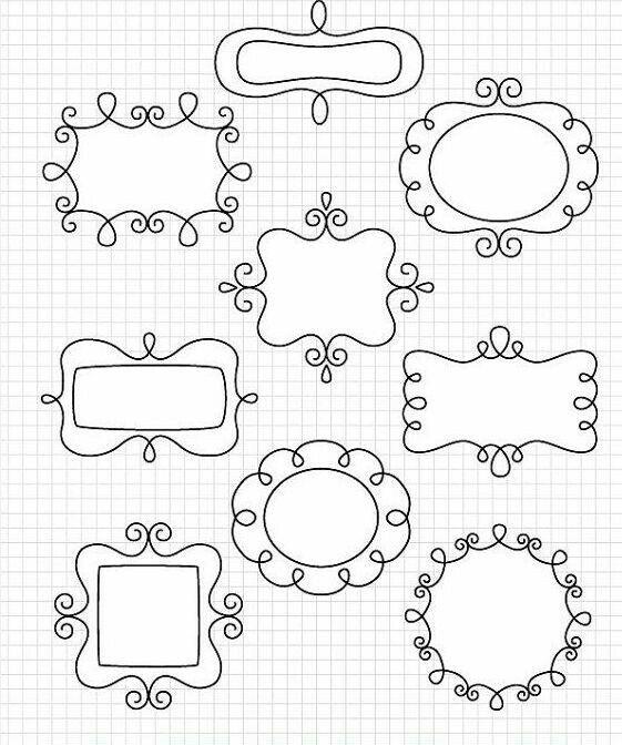 Free printable tag templates for DIY tags - ausdruckbare Etiketten ...