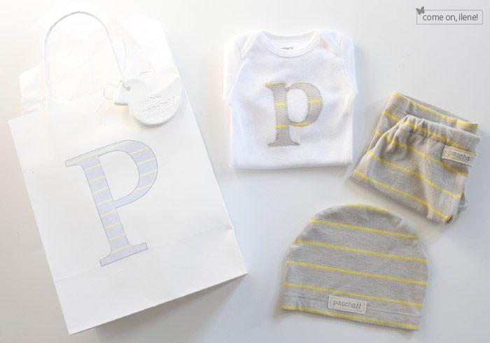 Diy baby outfit from a xl shirt love baby gifts pinterest what a cute newborn gift set all of this was made from one xl shirt found in the clearance section of old navy how thrifty negle