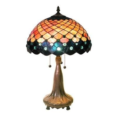 Warehouse of Tiffany 1732+BB450 Style Grace Table Lamp