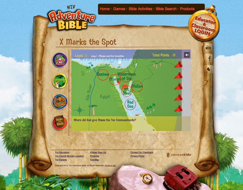 Online Games for Christian Kids {Adventure Bible Kids ...
