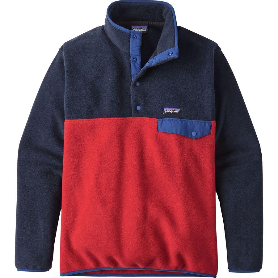 Patagonia Men's Lightweight Synchilla Snap T Fleece Pullover